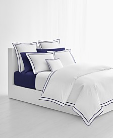 Lauren Ralph Lauren Spencer Cotton Sateen Border Full/Queen Duvet Cover