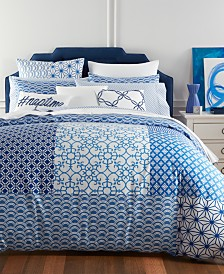 CLOSEOUT! Charter Club Damask Designs Patchwork Bedding Collection