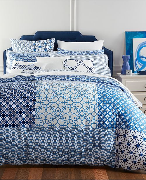 Charter Club CLOSEOUT! Patchwork Bedding Collection