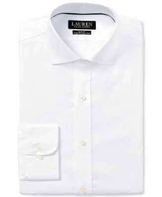 Lauren Ralph Lauren Men/'s Slim-Fit Non-Iron Dress Shirt