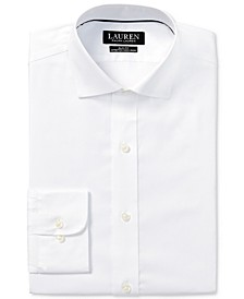 Men's Slim-Fit Non-Iron Stretch Pinpoint Dress Shirt