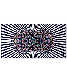"""Body Glove Look at Me Cotton 36"""" x 70"""" Graphic-Print Beach Towel"""
