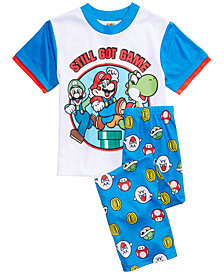 Nintendo's® Mario Brothers 2-Pc. Still Got Game Pajama Set, Little Boys & Big Boys