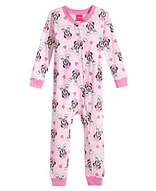 Disney's® Minnie Mouse 1-Pc. Cotton Pajamas, Toddler Girls