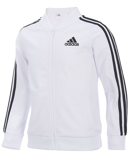 Adidas Tricot Bomber Jacket Big Girls Coats Jackets Kids Macys