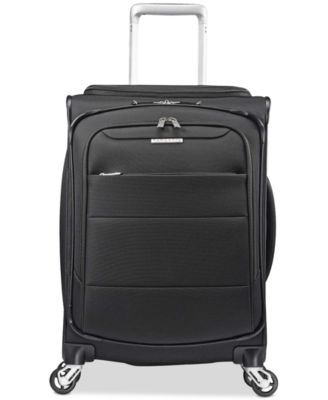 """CLOSEOUT! ECO-Spin 20"""" Expandable Softside Spinner Suitcase, Created for Macy's"""