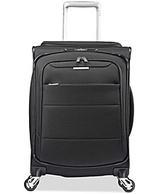 "CLOSEOUT! Samsonite ECO-Spin 20"" Expandable Softside Spinner Suitcase, Created for Macy's"