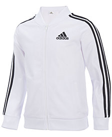 adidas Tricot Bomber Jacket, Little Girls