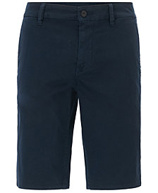BOSS Men's Slim-Fit Stretch Chino Shorts
