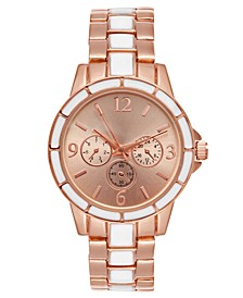 Women's Two-Tone Bracelet Watch 34mm, Created for Macy's