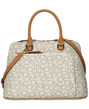 LEI SIGNATURE SMALL SATCHEL