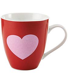 Pfaltzgraff Red & Pink Hearts Mug