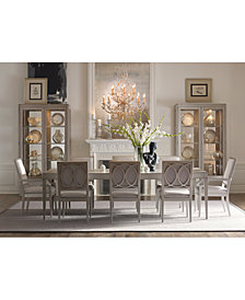 Rachael Ray Cinema Rectangular Expandable Dining Furniture Collection