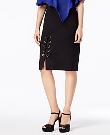 Thalia Sodi Corset Pencil Skirt, Created for Macy's