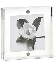 "Martha Stewart Collection Acrylic 3"" x 3"" Frame, Created for Macy's"