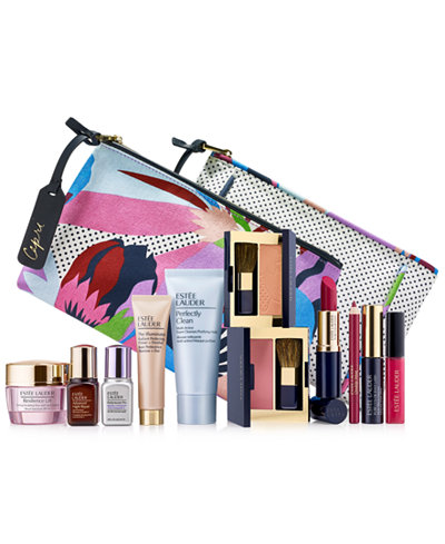 Choose your FREE 7-Pc. gift with any $37.50 Estée Lauder purchase