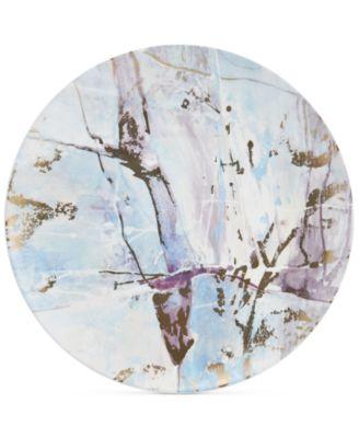 Aiden Gold Round Platter