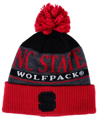 adidas North Carolina State Wolfpack Big Word Pom Knit