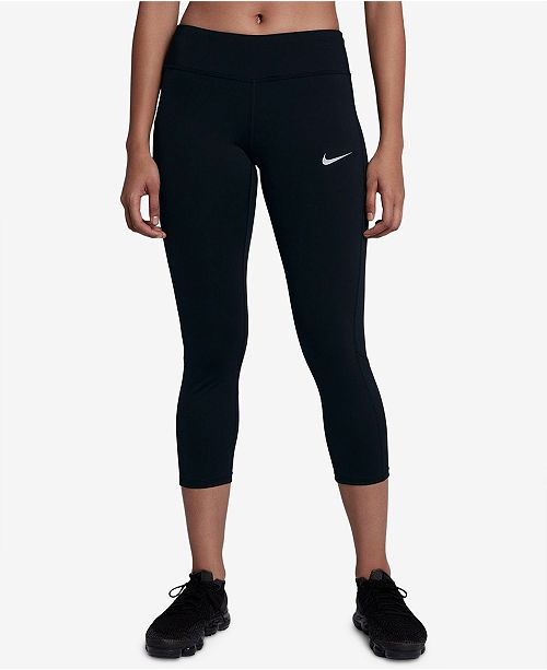 new product 1a4f0 71377 ... Nike Racer Dri-FIT Cropped Running Leggings ...