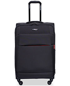"CLOSEOUT! Revo Airborne 20"" Softside Spinner Suitcase, Created for Macy's"