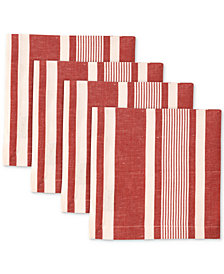 Nortiake Mara Raspberry 4-Pc. Napkin Set