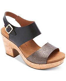 Rockport Vivianne Wedge Sandals