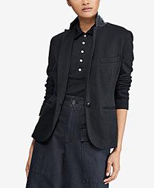 Polo Ralph Lauren Peplum Jacquard Jacket