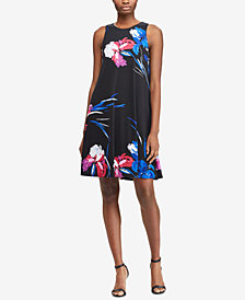 Lauren Ralph Lauren Petite Trapeze Dress