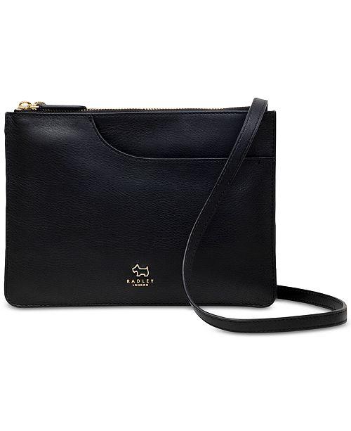 Radley London Pockets Medium Zip Top Leather Crossbody