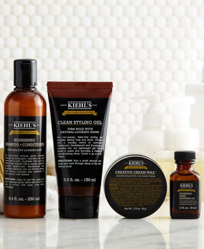 Kiehl's Since 1851 Grooming Solutions Nourishing Beard Grooming Oil, 1-oz. & Reviews - Beauty - Macy's