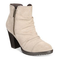 Deals on White Mountain Taft Block-Heel Booties
