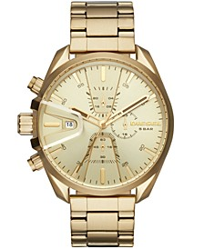 Men's Chronograph MS9 Chrono Gold-Tone Stainless Steel Bracelet Watch 47mm