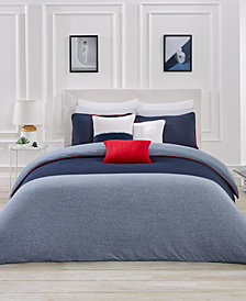 Lacoste Home L.12.12 3-Pc. King Duvet Cover Set