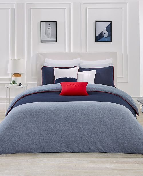 3f857e9bc Lacoste Home L.12.12 Bedding Collection   Reviews - Bedding ...