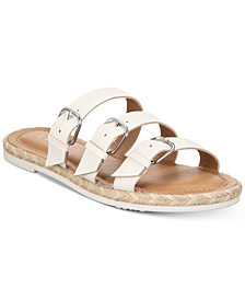 Esprit Vogue Espadrille Flat Slip-On Sandals