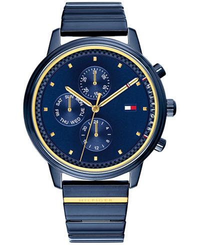 Tommy Hilfiger Women's Blue Bracelet Watch 38mm, Created for Macy's