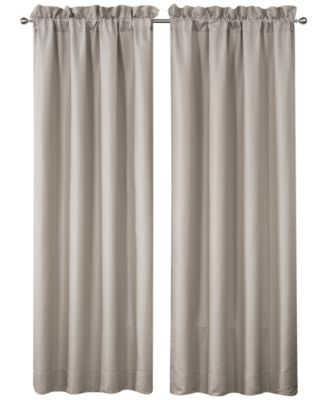 "Victoria Pole Top Pair 100"" x 84"" Window Drapery"