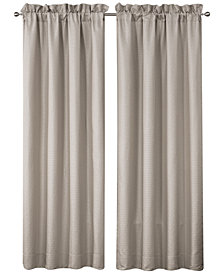 """Waterford Victoria Pole Top Pair 100"""" x 84"""" Window Drapery"""