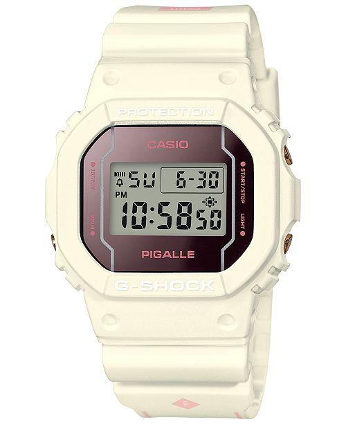 9dfc197b4 Casio G-Shock Women s Digital Pigalle White Resin Strap Watch 42.8x42.8mm  ...
