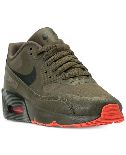 promo code caf80 2961d ... Nike Big Boys  Air Max 90 Ultra 2.0 LE Casual Sneakers from Finish ...