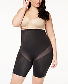 Miraclesuit Women's  Cool Choice Plus Size Extra-Firm-Control High-Waist Thigh Slimmer 2409