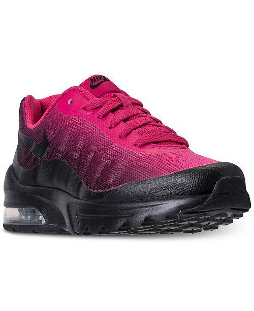 uk availability cfa05 9edbb ... Nike Little Girls  Air Max Invigor Running Sneakers from Finish ...