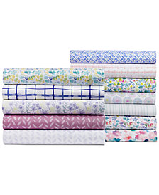bluebellgray 230 Thread Count Printed California King Sheet Set
