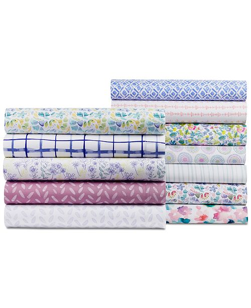 bluebellgray 230 Thread Count Printed Twin Sheet Set