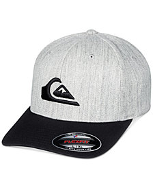 Quiksilver Men's Mountain & Wave Logo Flexfit Hat