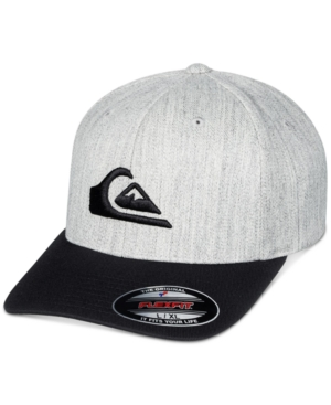 Quiksilver MEN'S MOUNTAIN & WAVE LOGO FLEXFIT HAT