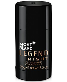 Montblanc Men's Legend Night Deodorant Stick, 2.5 oz.