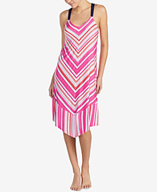Layla V-Striped Nightgown
