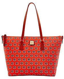 Dooney & Bourke Cincinnati Bengals Zip Top Shopper