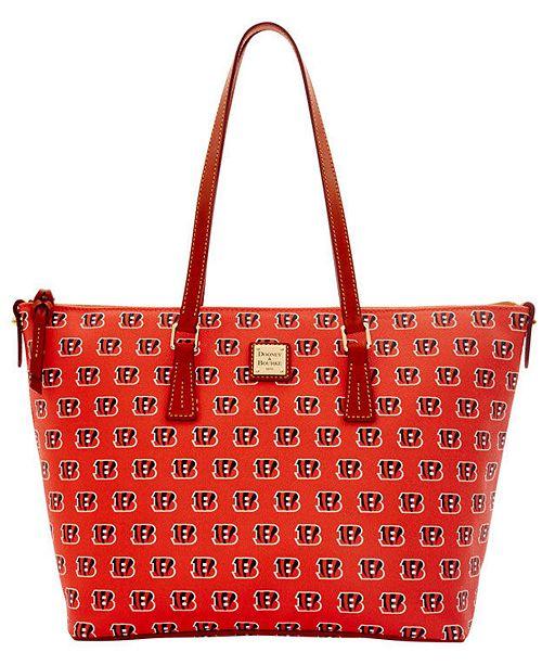 Dooney & Bourke Cincinnati Bengals Zip Top Shopper